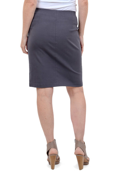 Equestrian Brooke Skirt, Dark Gray
