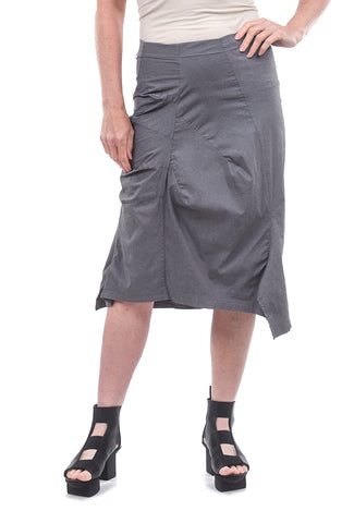 Rundholz Black Label Stretch Tuck Skirt, Rock Gray