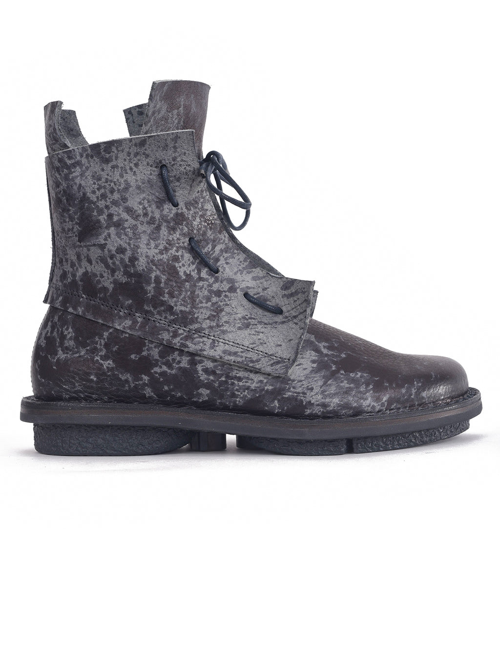 Trippen Shoes Solid Closed Boot, Gray Ash CST