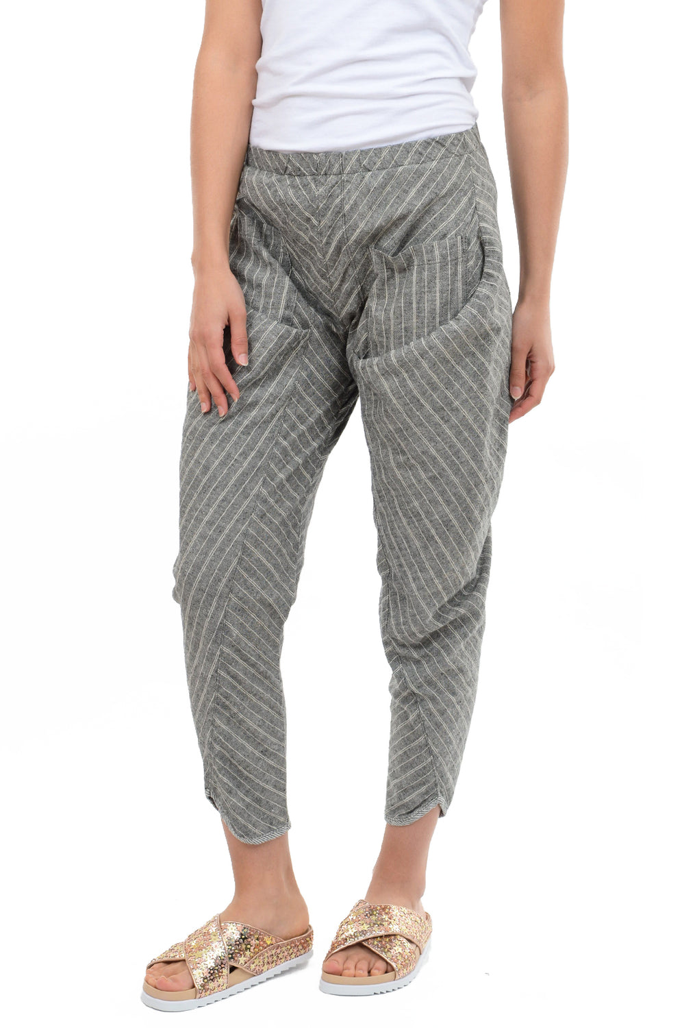 Prairie Underground Ziggy Pants, Black Stripe