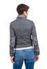 Baci Fish Bones Jean Jacket, Gray