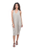 Luukaa Rita Knit Layered Dress, Stone