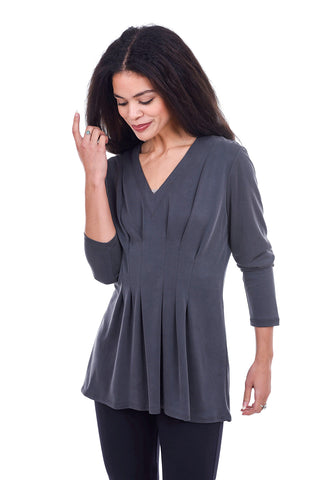 Niche Moonlight Modal Top, Gray
