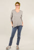 It Is Well Boxy Tee, Zinc Gray