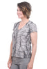 T/9 Graphic Print T-Shirt, Gray/Forest