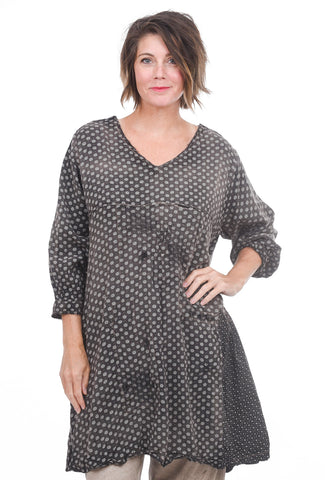 Magnolia Pearl Lani Callaway Grandmother Dress, Charcoal One Size Charcoal