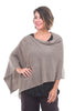 In Cashmere Cashmere Ruana, Heather Almond One Size Heather Almond
