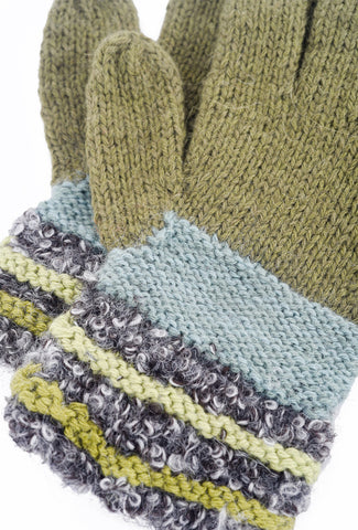 Little Journeys Gloves, Monet Gray