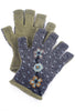 Little Journeys Little Journeys Gloves, Wallflower Green One Size Green