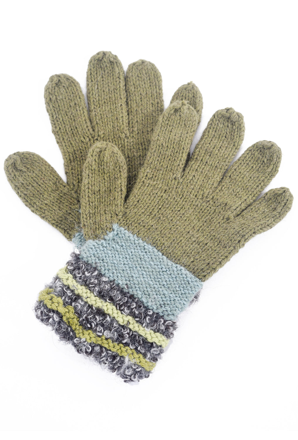 Little Journeys Little Journeys Gloves, Monet Gray One Size Gray