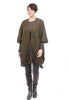Pretty Persuasions PP Fringe Knit Vest, Army Green One Size Army