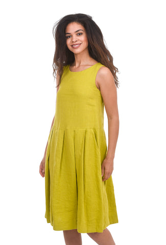 Bitte Kai Rand Lazy Linen Dress, Lemon