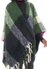 Numph Moriah Poncho, Green One Size Green
