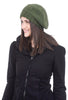 Santacana Madrid Wool/Alpaca Beret, Green One Size Green