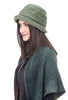 Lillie & Cohoe Hats Beatrice Mohair Hat, Leaf Green