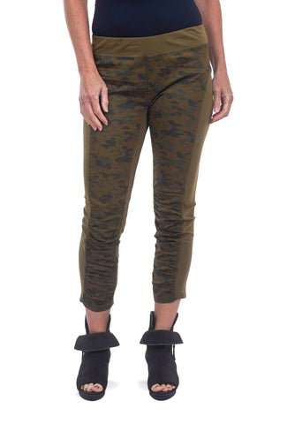 Wearables by XCVI Camo Jetter Pants, Army Crux