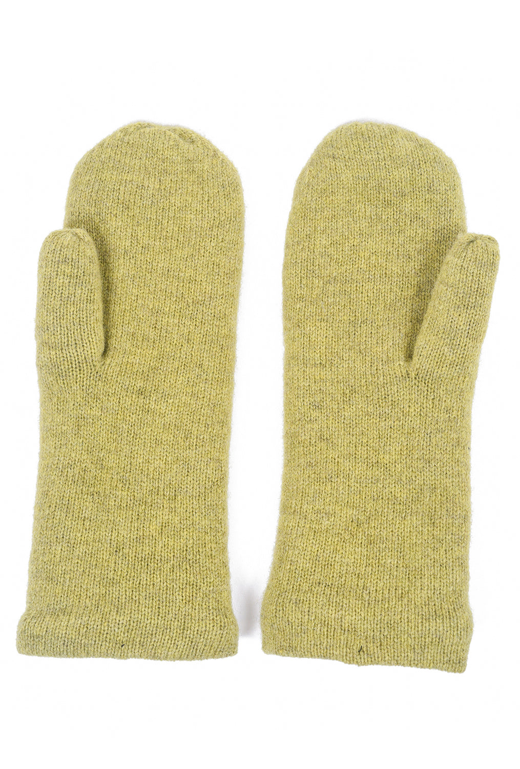 Two Danes Handy Mittens, Lime One Size Lime