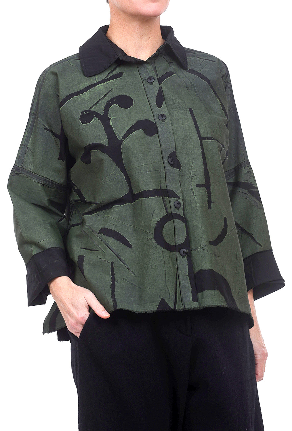 Skif International Square Shirt, Olive/Black One Size Olive