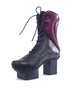Trippen Shoes Heart Happy Boot, Black/Notte