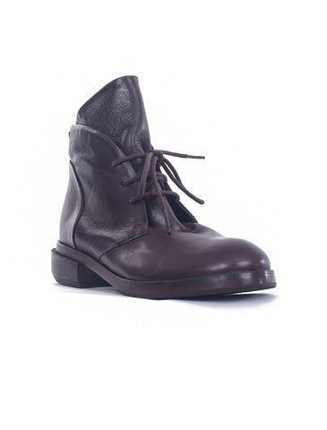 P. Monjo Lace-Up P-1256 Boot, Lux Testa Brown