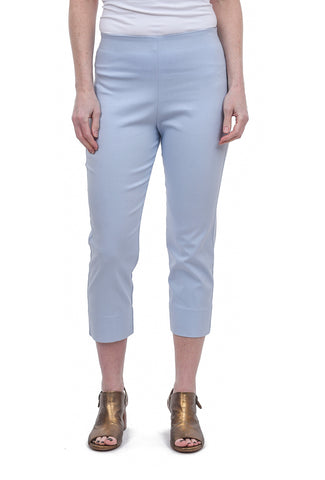 Equestrian Mindy Cropped Pant, Sky Blue