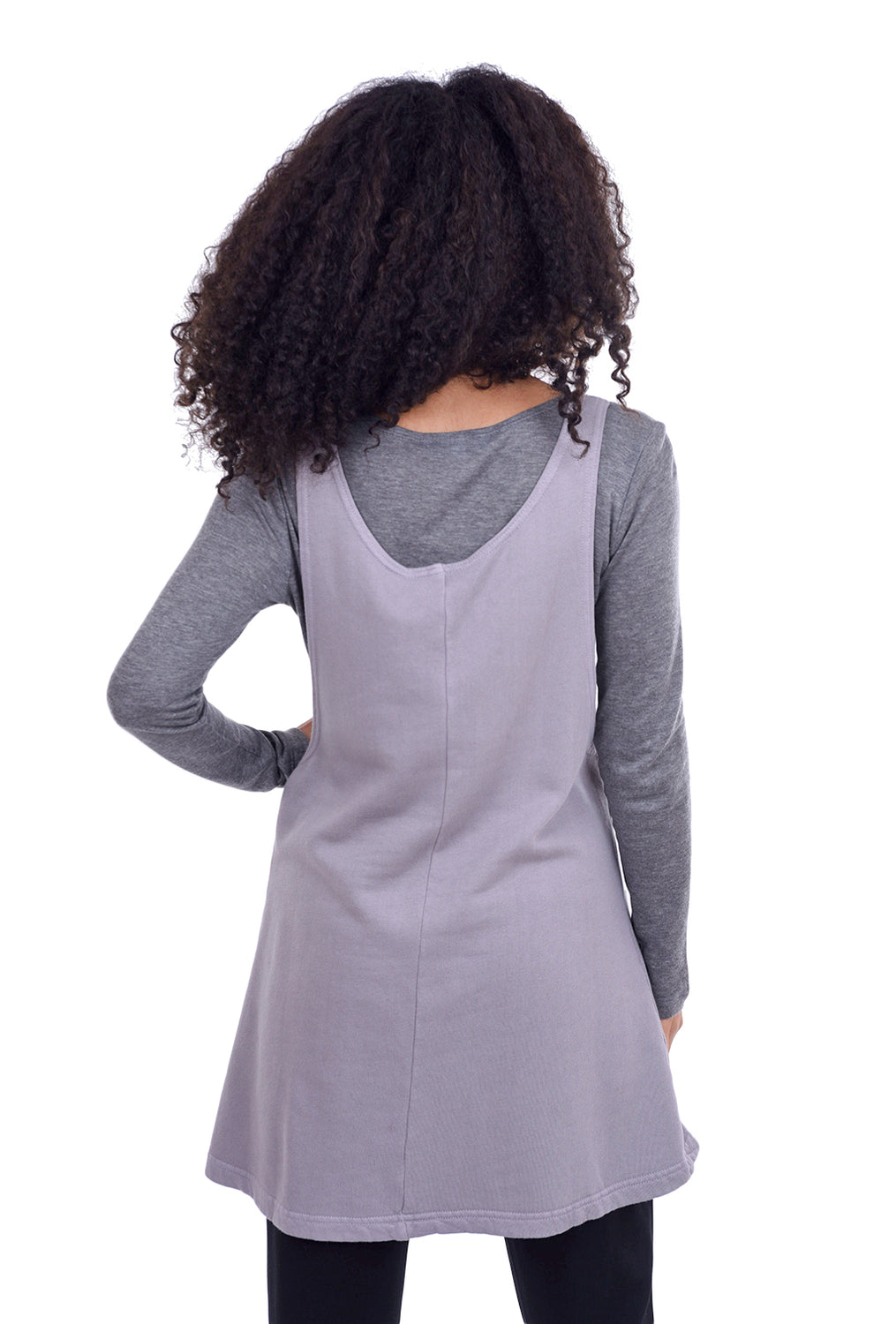 Pacific Cotton Pocket Jumper, Uffizi Mauve