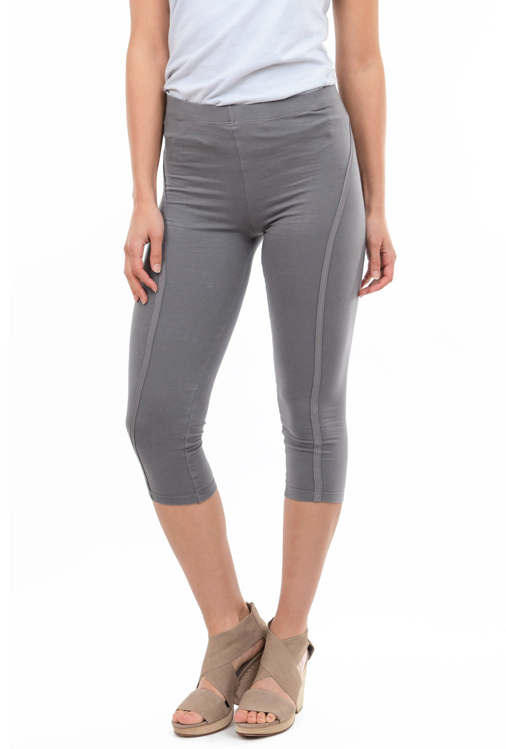 Prairie Underground Powerlines Leggings, Gray Ray