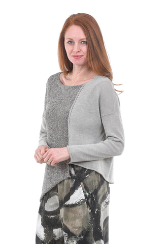 Crea Concept Mixed Knits Sweater, Taupe