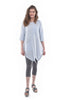Cynthia Ashby Nissi Tunic, Ice Blue