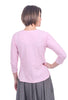 Sen Clothing Grace Oversize V-Neck, Blush