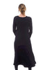 Alembika Lava Stone Inset Dress, Black