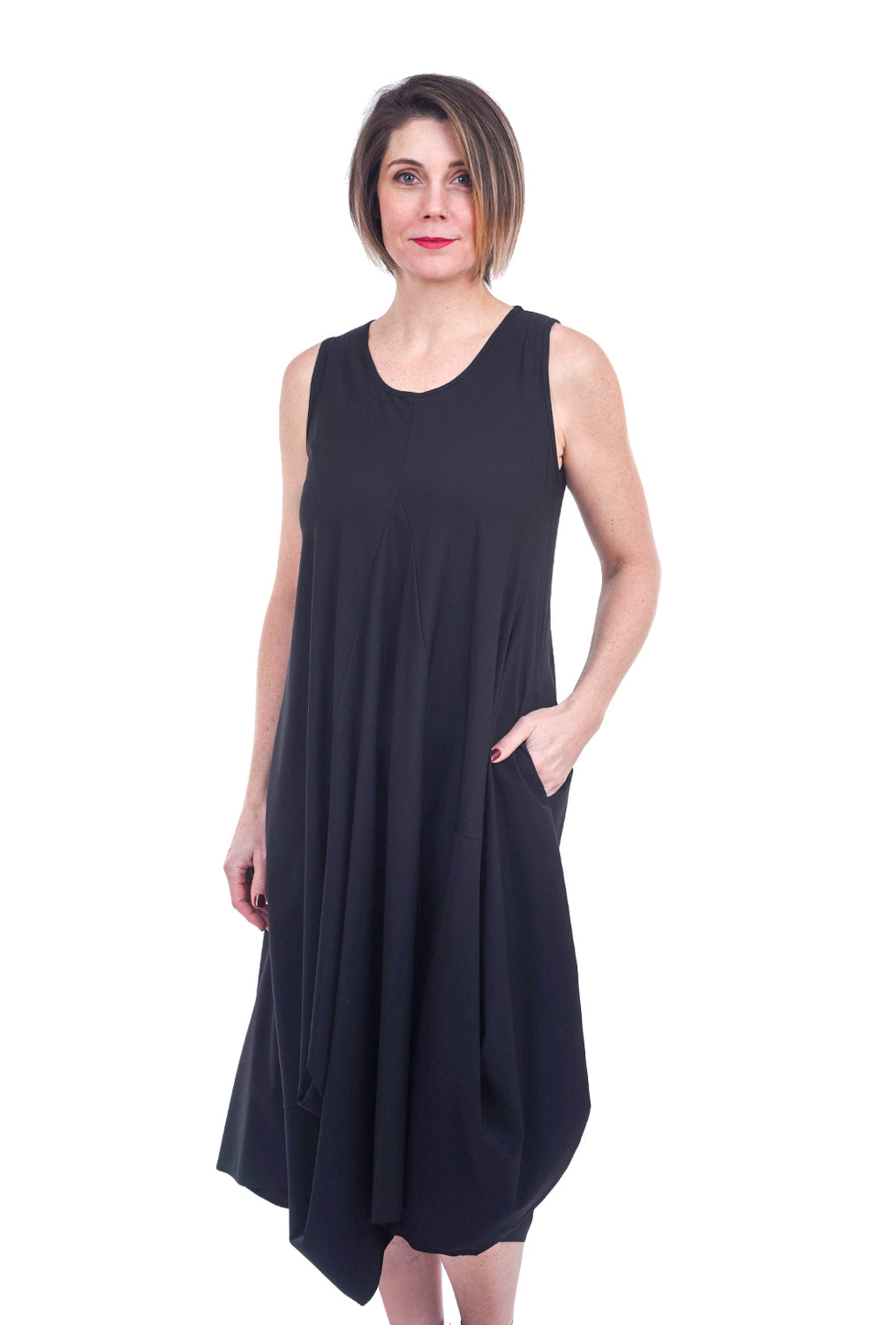 Jason by Comfy USA Eddie Dress, Black
