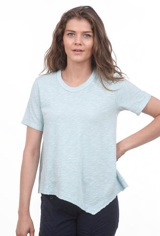 Wilt Baby Twisted Tee, Blue Robin