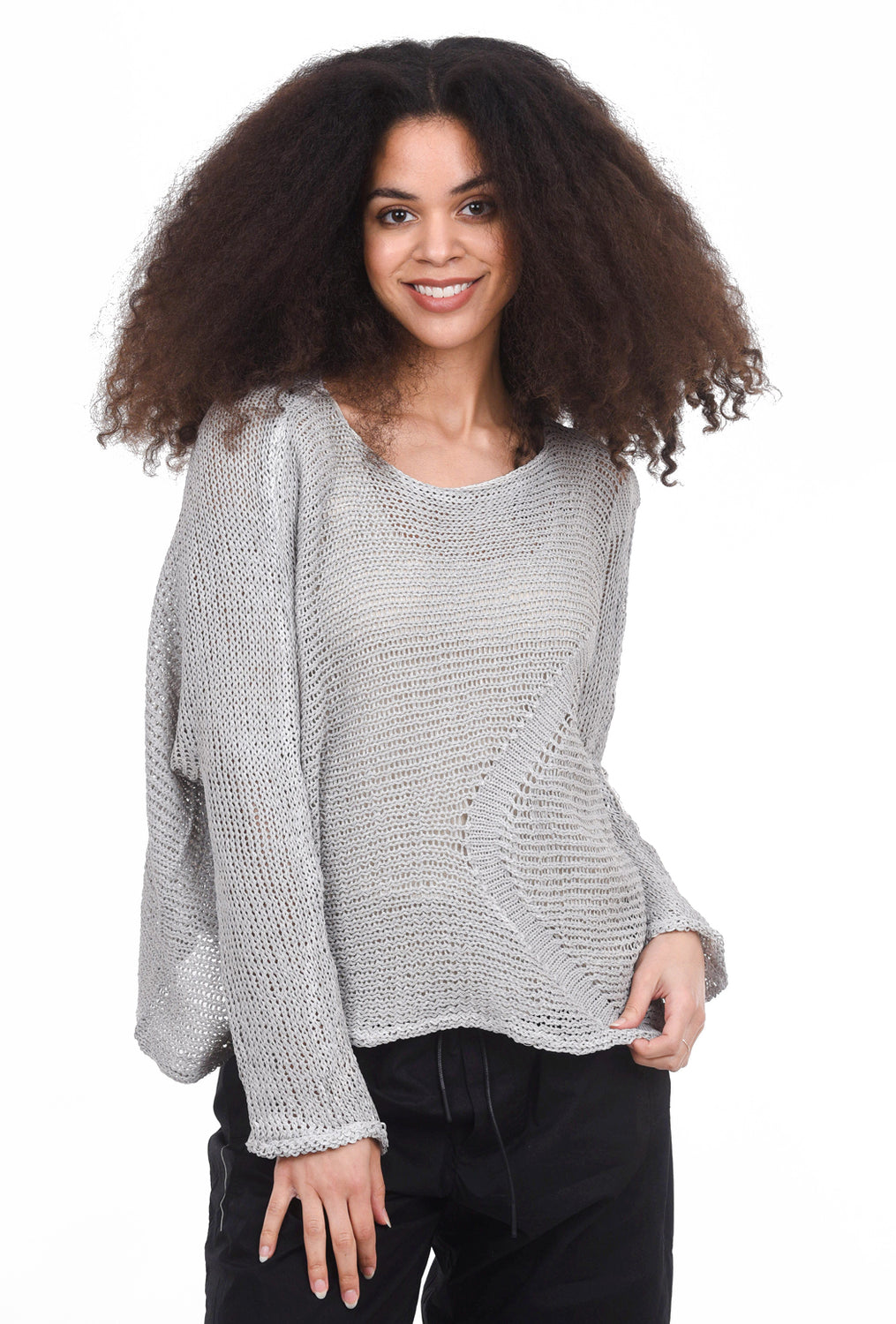 Skif International Claude Pullover, Ice Gray/Chrome One Size Gray