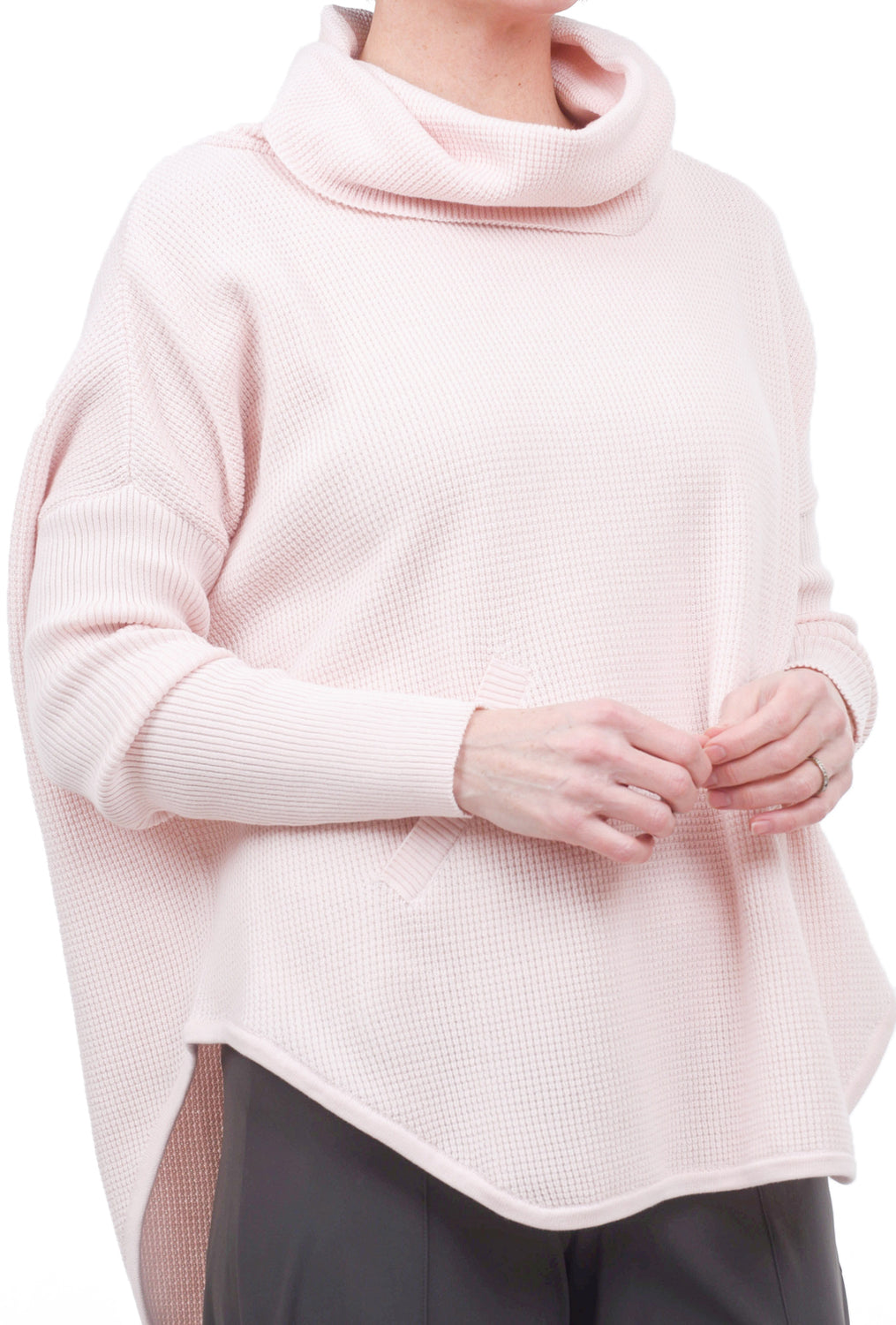 Planet Perfect Waffle Cowl, Blush Pink One Size Pink