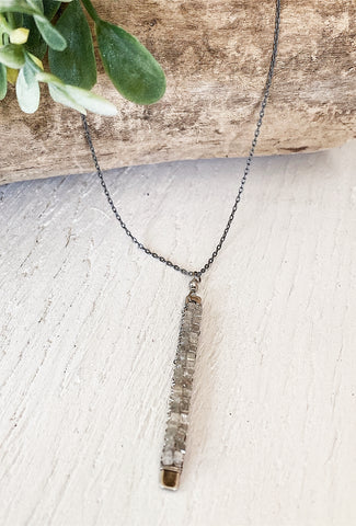 Michelle Pressler MP Gray Diamond Necklace
