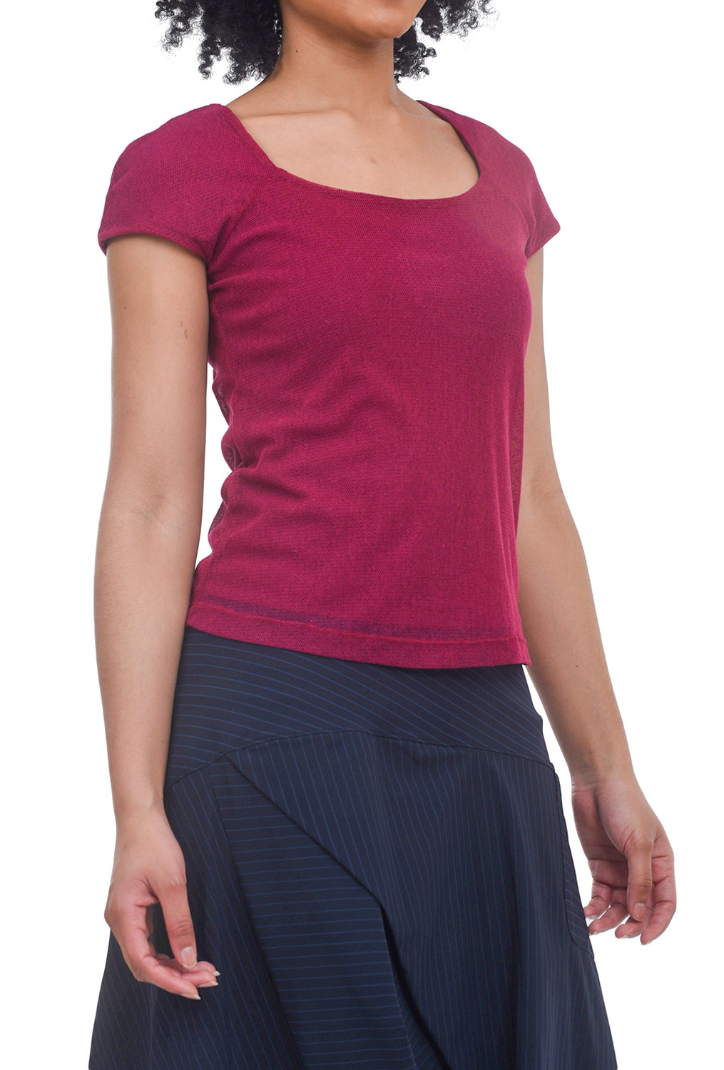 Porto Fanny Top, Raspberry