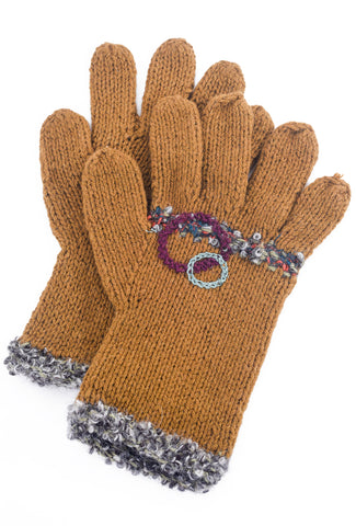 Little Journeys Gloves, Atacama Brown