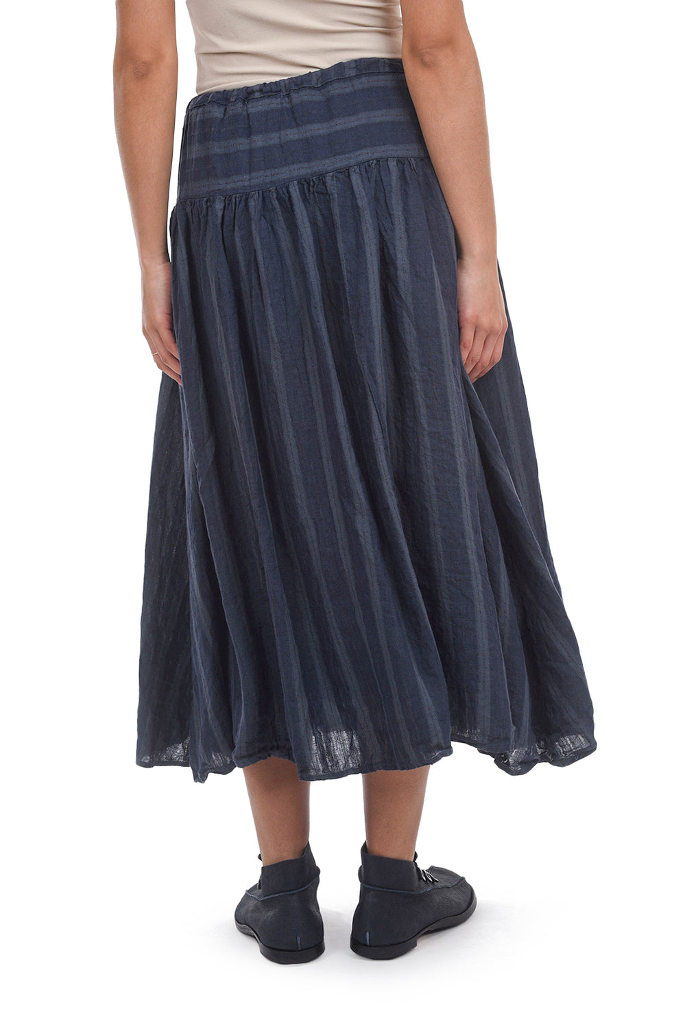 CP Shades Linen Bonay Skirt, Bluegreen