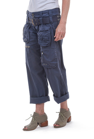 Poplin Cargo Pant, Twilight Blue