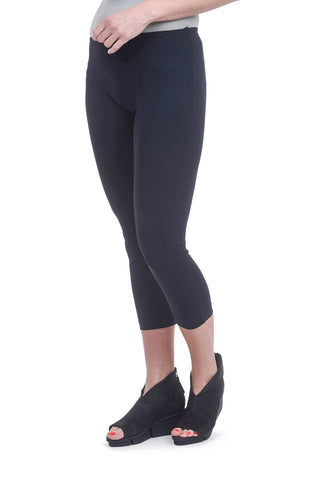 Porto Sasha Cropped Leggings, Deep Blue