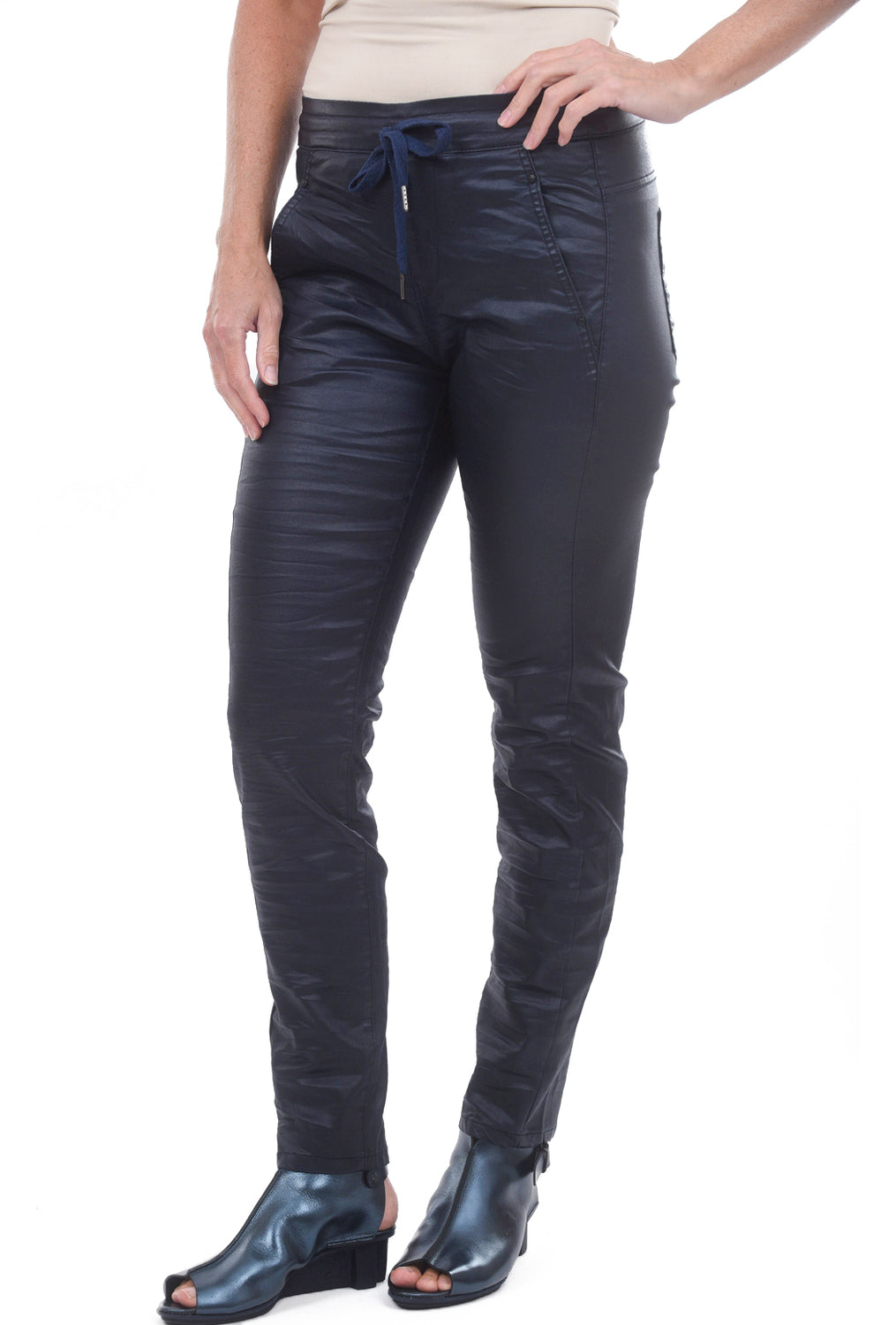 Alembika Bika Favorite Shiny Skinnies, Navy