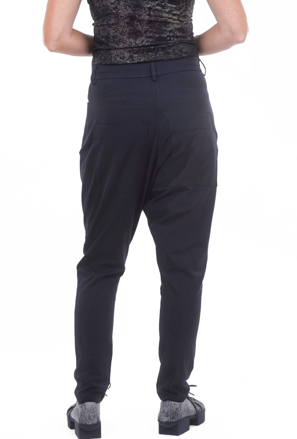 Rundholz Black Label Fused Jersey ER Pants, Steel
