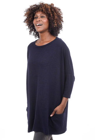 Cut Loose Crimped One-Size Pullover, Blue Moon One Size Blue Moon
