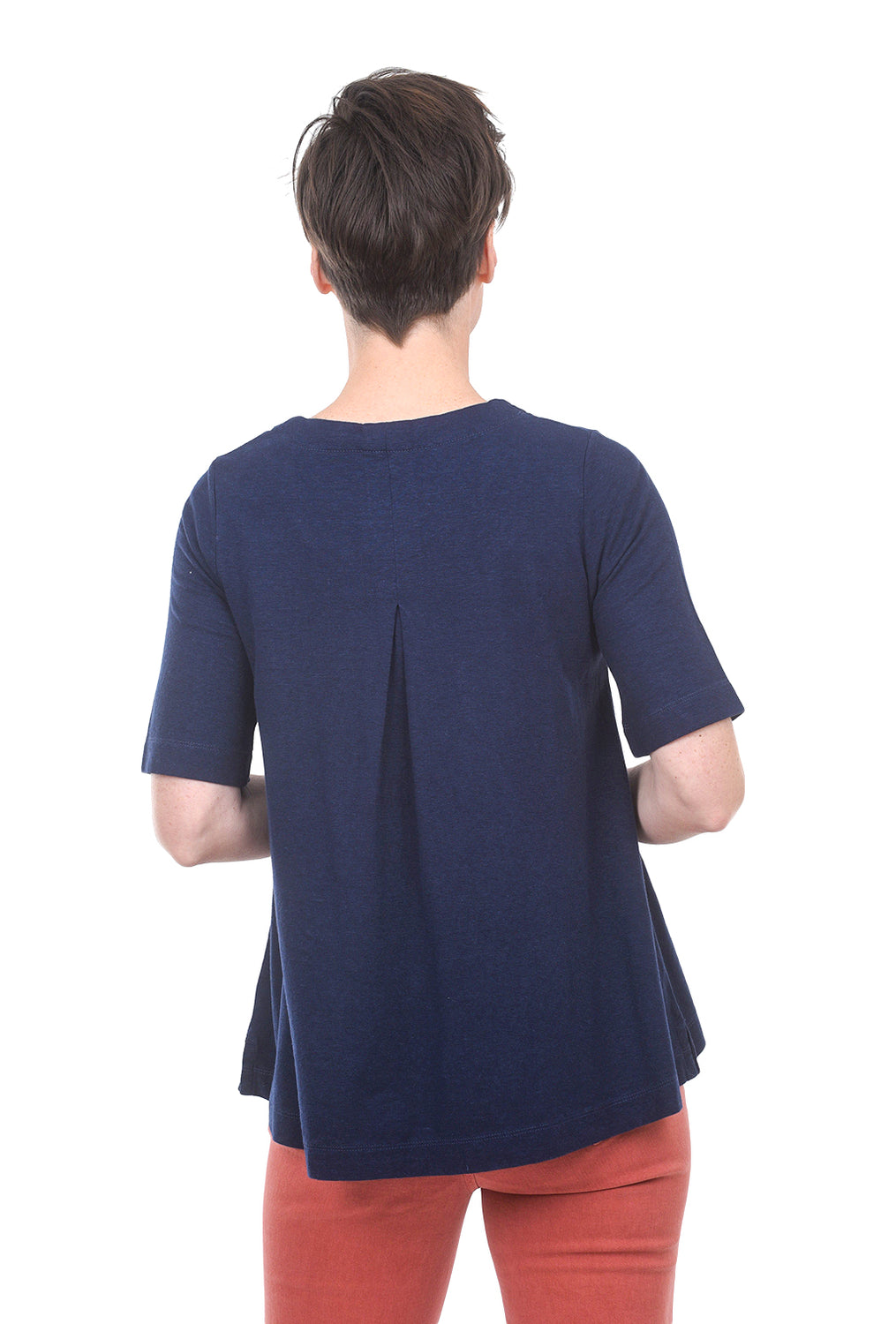 Two Danes Heidi T-Shirt, Navy Blue