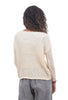 Lilla P Open-Stitch Sweater, Off-White