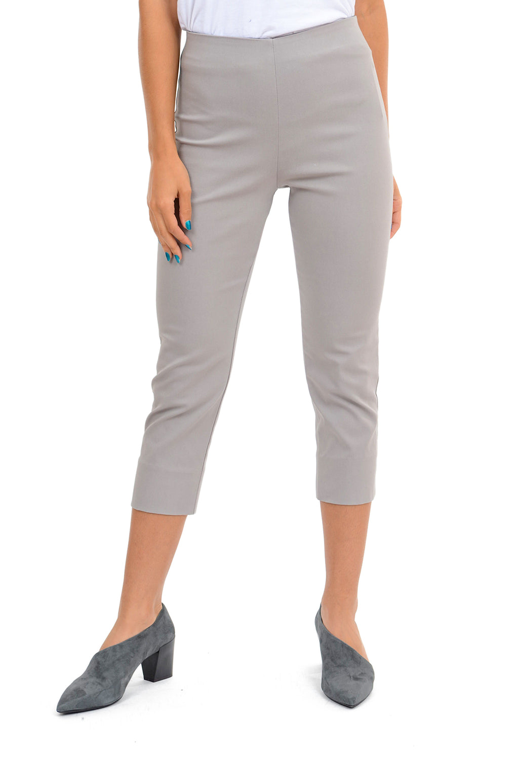 Equestrian Mindy Cropped Pant, Mist