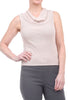 Margaret O'Leary Knits Thermal Cowl Tank, Quartz