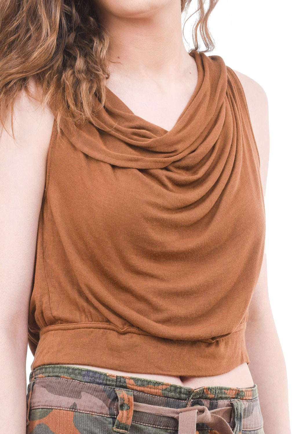 Free People My Way Top, Brown