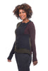 Rundholz Black Label Shrunken Colorblock Sweater, Original